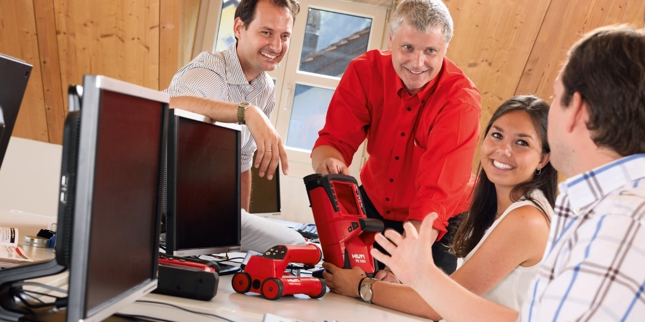 Hilti detection systems typical applications