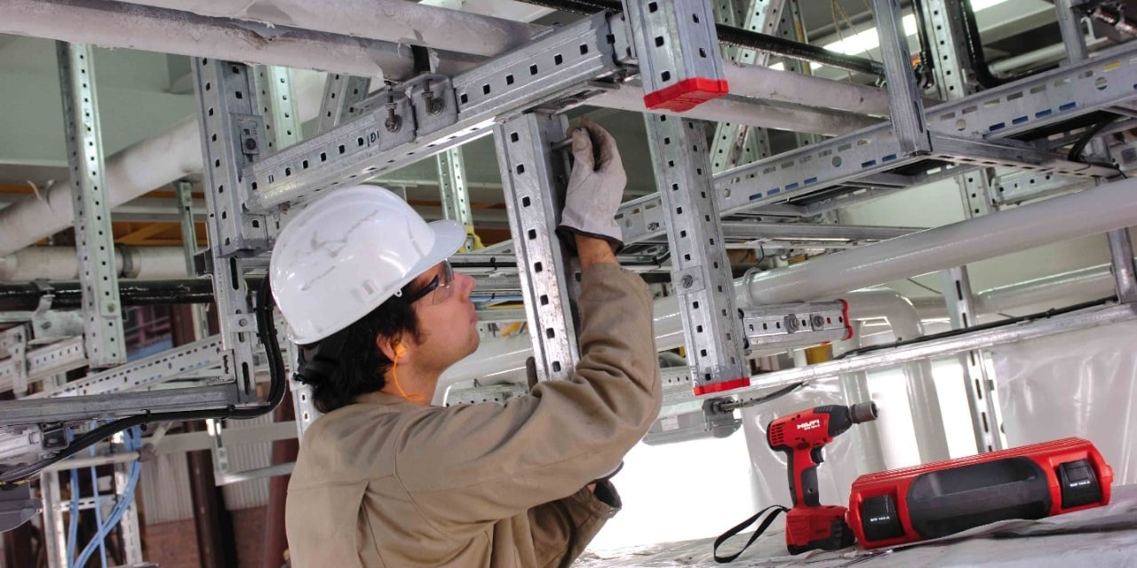 Hilti MI modular support system for heavy-duty applications