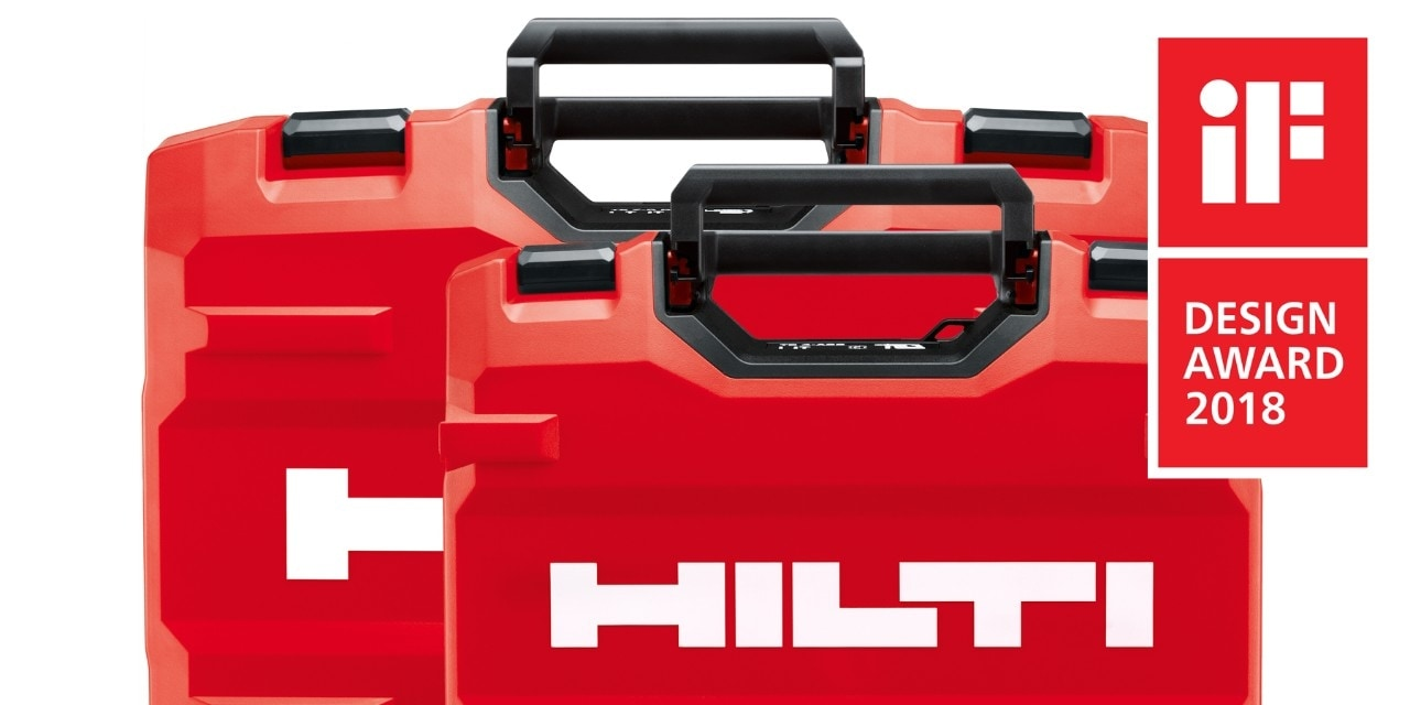 HILTI INNOVATIONS COLLECT IF DESIGN AWARDS