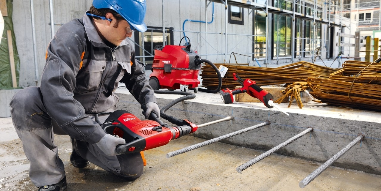 Hilti HIT-HY 200 injectable mortar