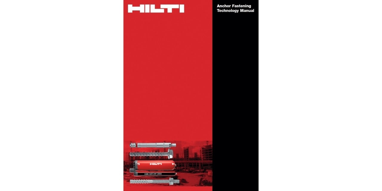 Hilti fastening technology manual