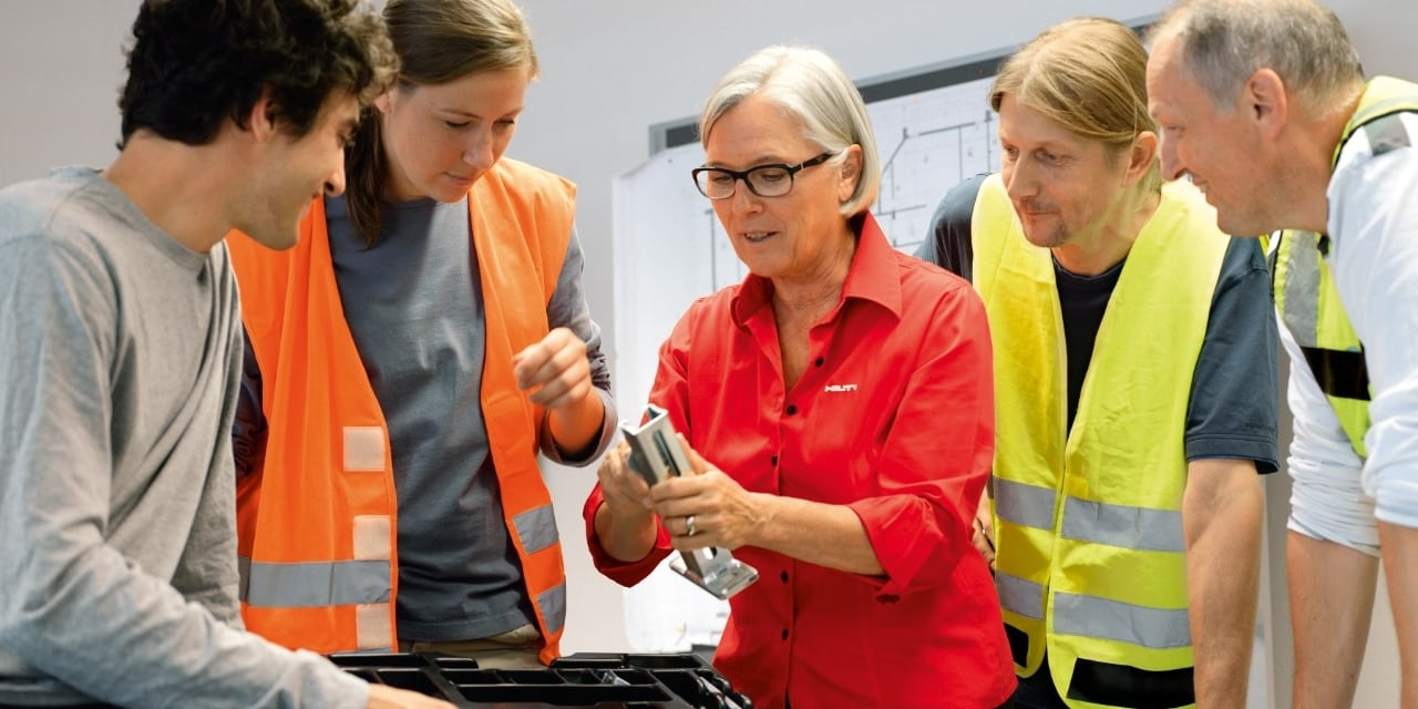 Hilti engineering training for modular support systems