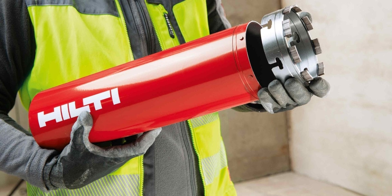 Hilti diamond core bit with x-change module