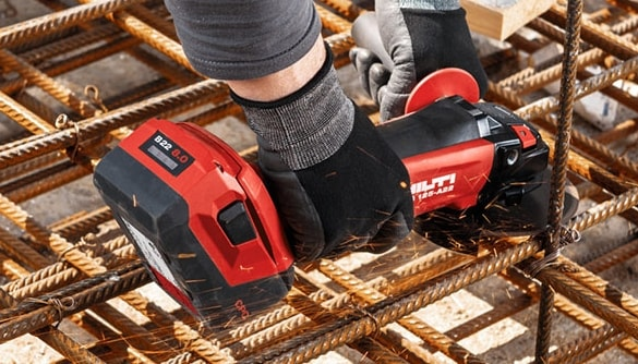 Increase your productivity with Hilti's battery technology