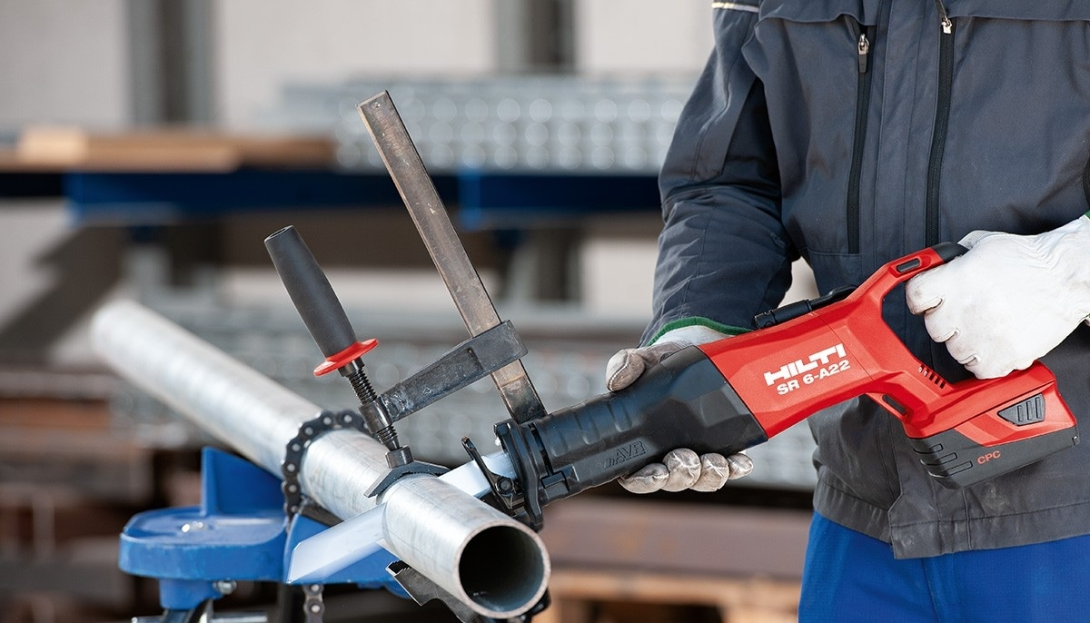 The range of new Hilti cordless tools for construction jobs