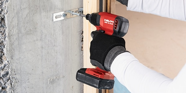 The SID 2-A12 is ideal for masonry and wood