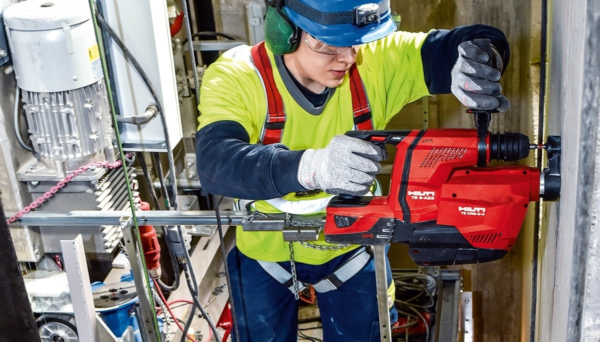 Introducing the TE 6-A22 rotary hammer drill