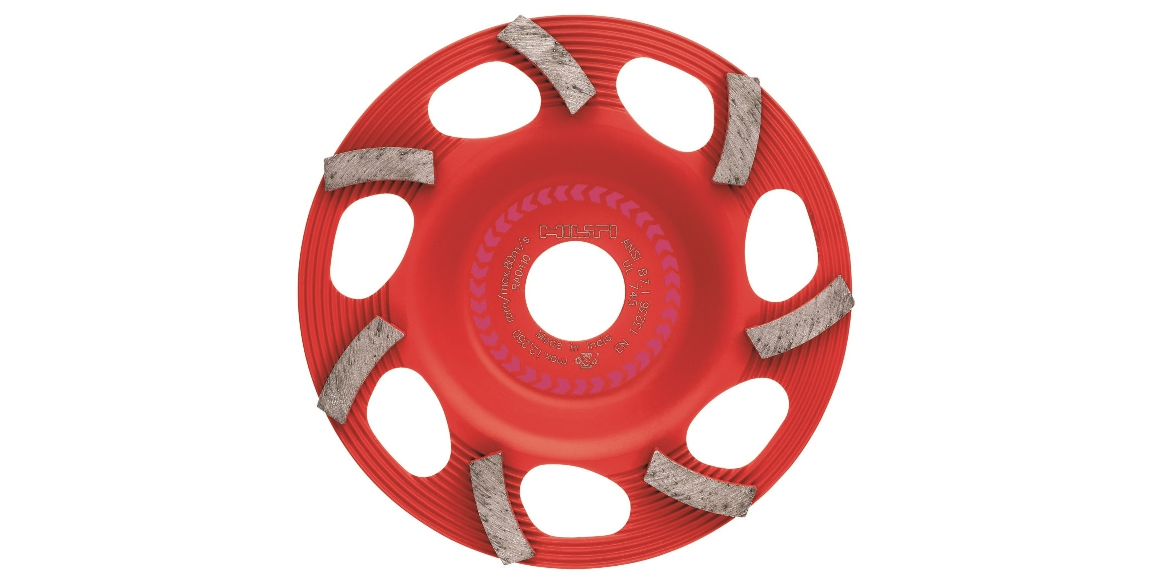 Hilti SPX universal diamond grinding cup wheel with coating