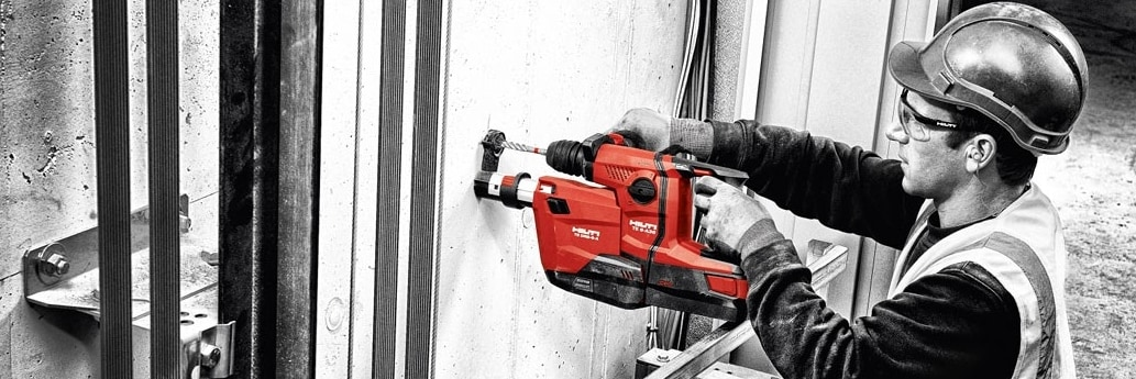 Hilti TE 6-A22 rotary hammer in elevator application