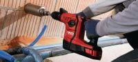 TE 6-A36 Versatile 36 V cordless rotary hammer for superior performance Applications 5
