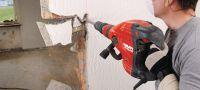 TE 700-AVR High-performance breaker / chipping hammer for renovation and demolition work, featuring low vibration for superior handling and a brushless motor for longer lifetime Applications 3