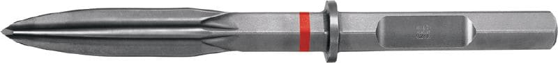 TE-H28P SM Ultimate HEX 28 (H28) pointed chisel with polygon-wave design for highest productivity in heavy demolition